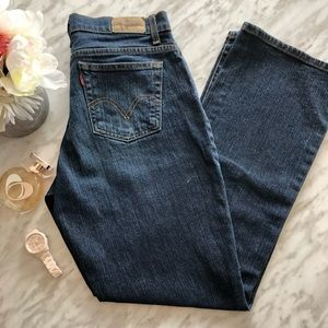 Levi's 550 Classic Relaxed Bootcut Jeans Size 8